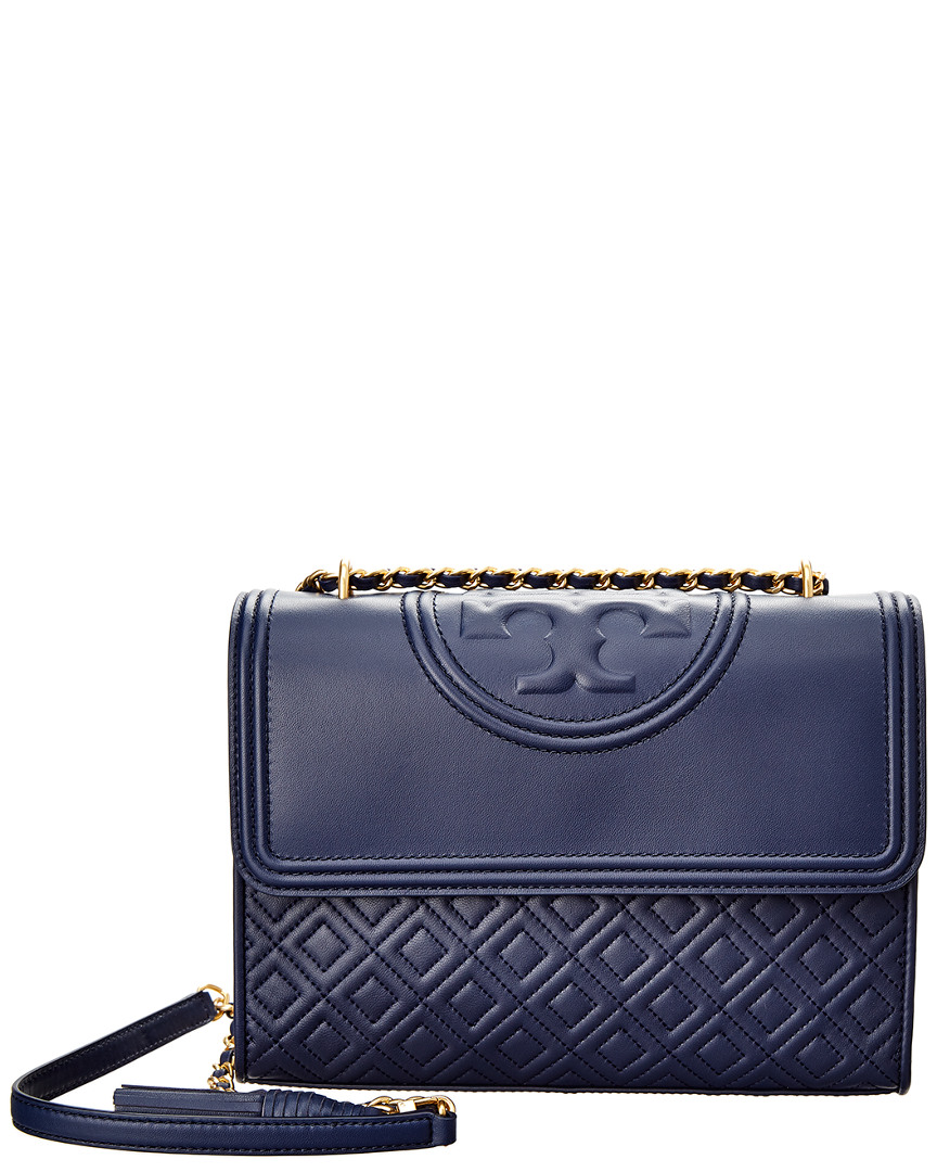 fa033bb5f559 Tory Burch Fleming Leather Convertible Shoulder Bag In Nocolor ...
