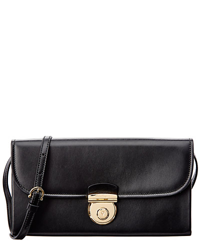Salvatore Ferragamo Fiamma Leather Minibag