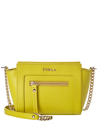 Furla Ginevra Mini Leather Crossbody