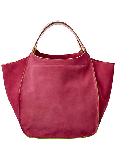 Bosca Suede The Evelyn Bag