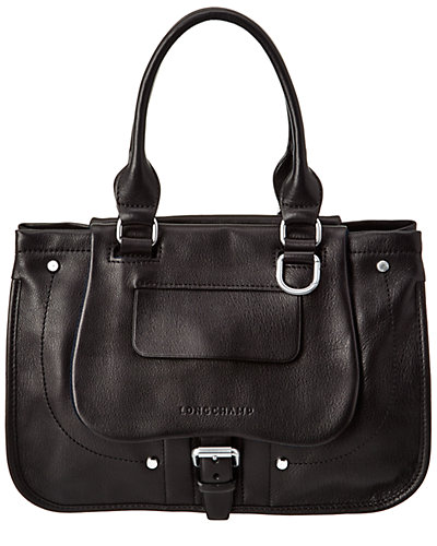 Longchamp Balzane Leather Shoulder Bag