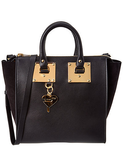 Sophie Hulme Holmes Medium Leather North South Tote