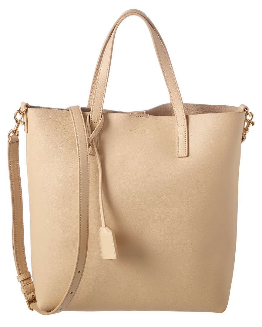 TOY LEATHER SHOPPING TOTE