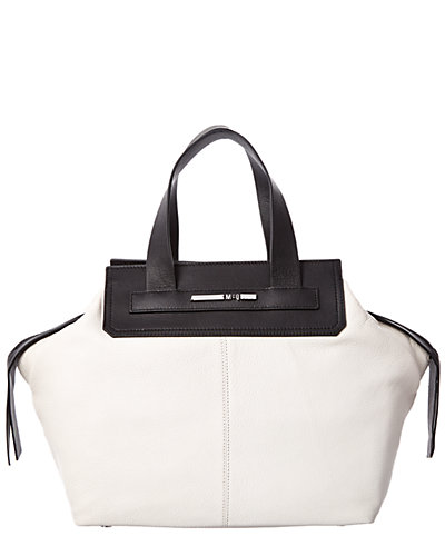 McQ by Alexander McQueen Zip Leather Tote
