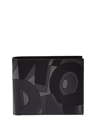 Salvatore Ferragamo Fusion Printed Leather International Bifold Wallet