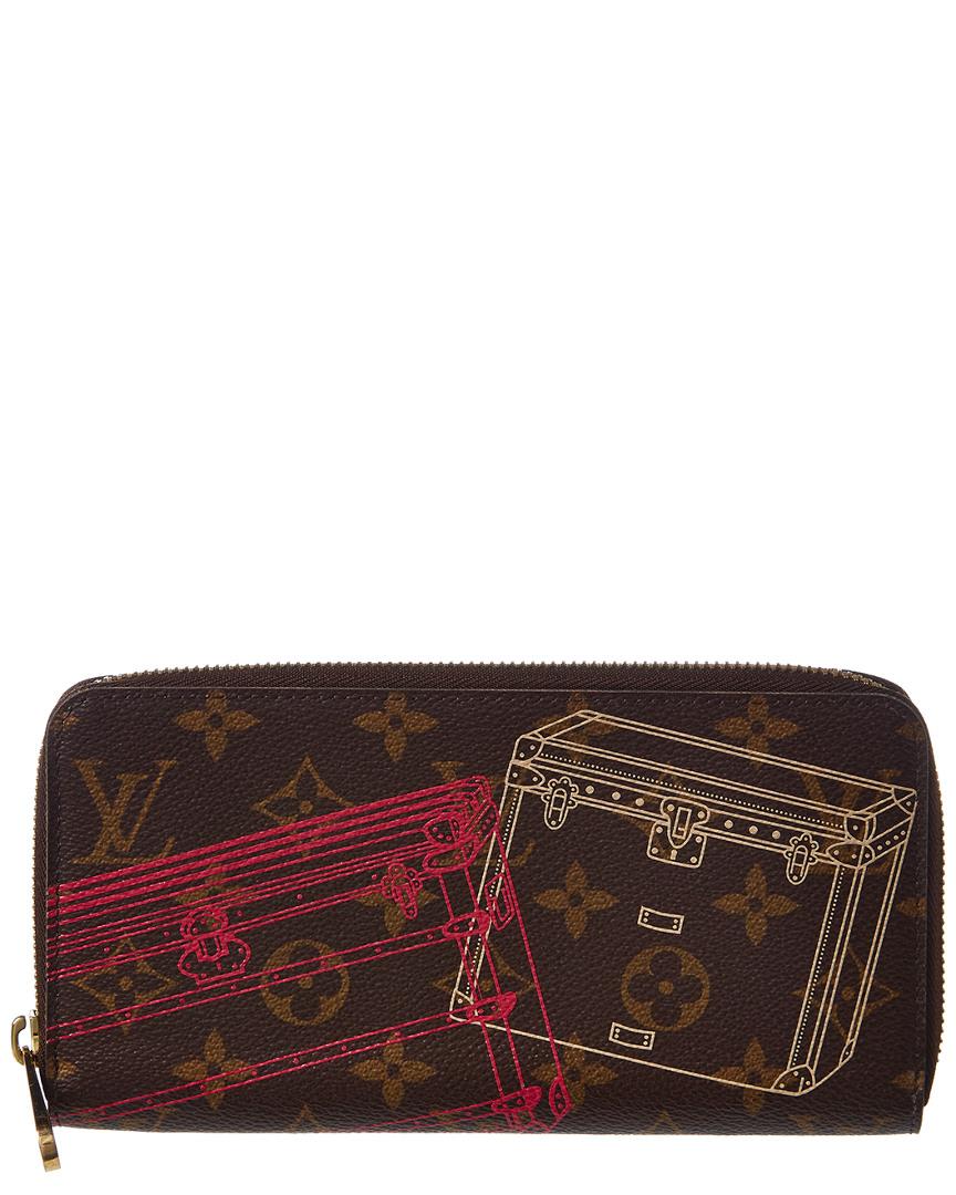 4b6df6006c2 Louis Vuitton Limited Edition Trunks   Bags Monogram Canvas Zippy Wallet In  Nocolor