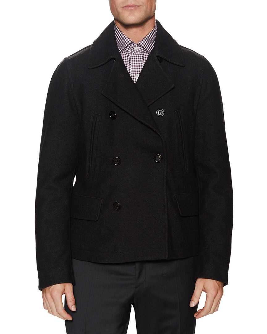 Dolce & Gabbana Double Breast Wool Peacoat 12118189160001