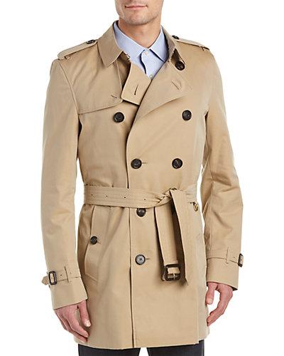 Burberry Kensington Mid Length Heritage Trench Coat