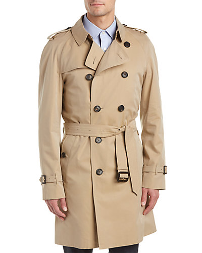 Burberry Wiltshire Long Heritage Trench Coat