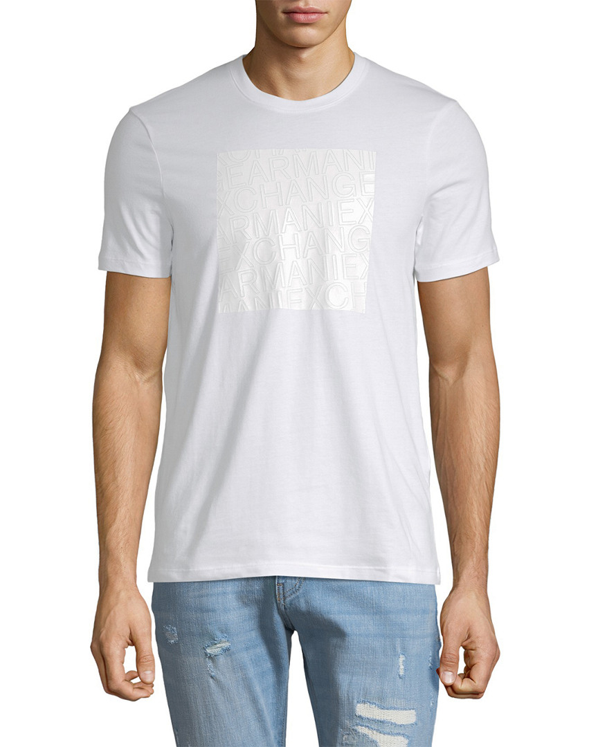 ARMANI EXCHANGE LOGO GRAPHIC T