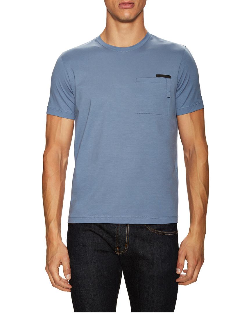 Prada Solid Crewneck T-Shirt 12128174920000