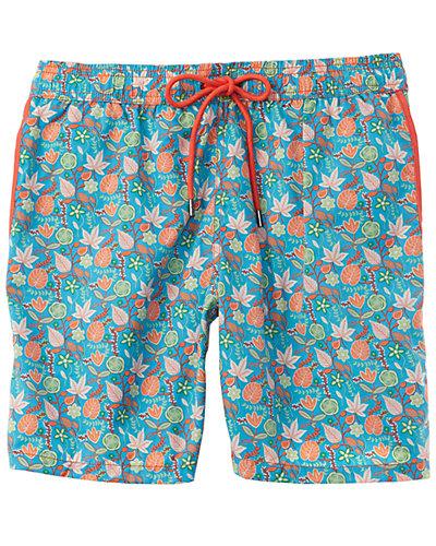 Rue La La — Mr. Swim Floral Swim Trunk
