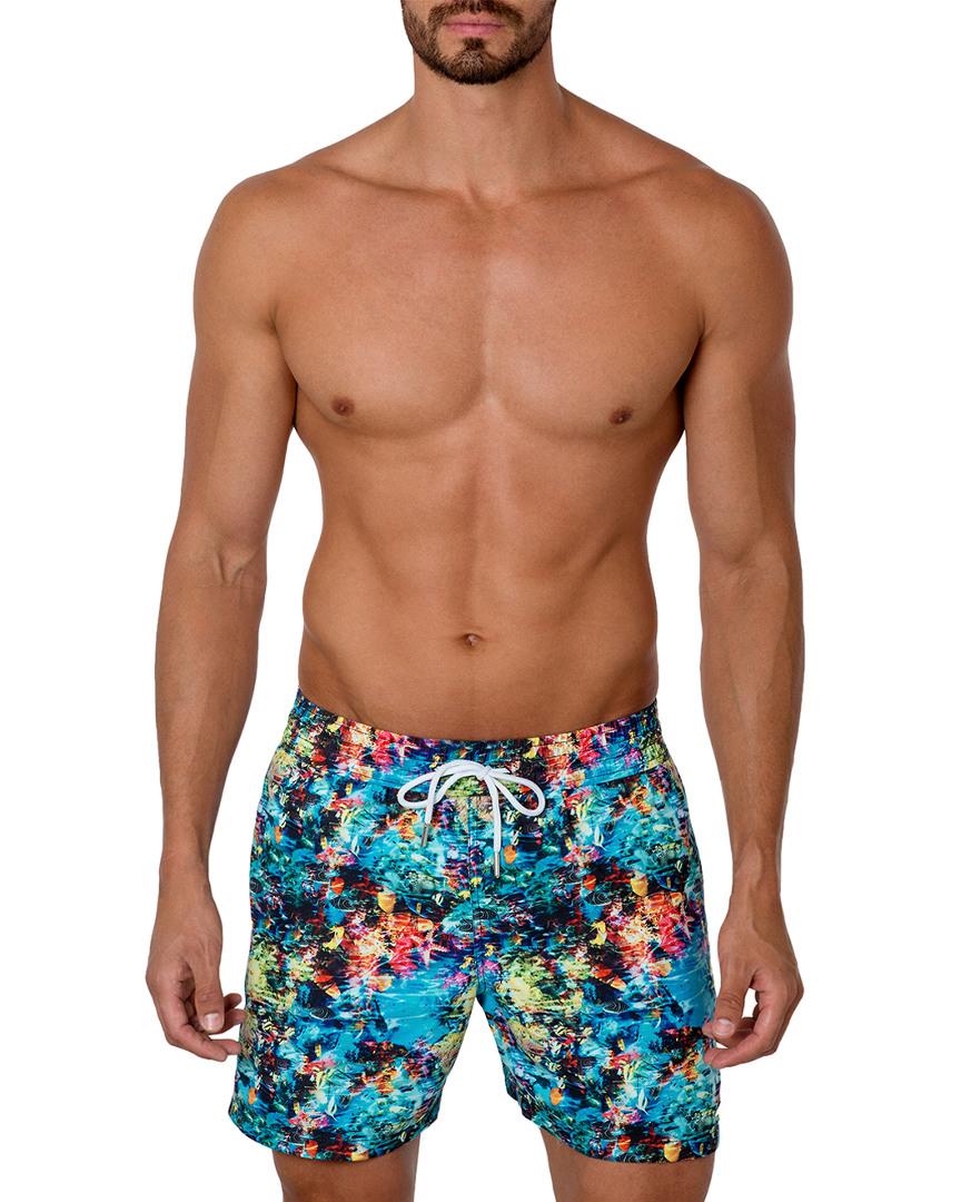 e8add7bf5c1df Jared Lang Mens Underwater Print Swim Trunk, M 1000073309184   eBay