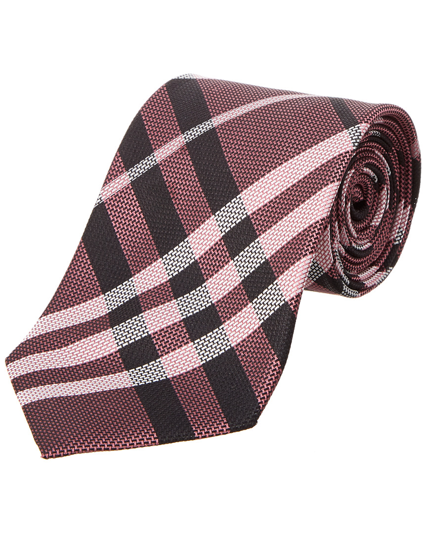 8ad67dbd8572 netherlands burberry clinton textured classic check tie 2ddfa 8dba0