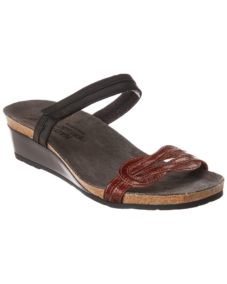 097a42d99ff2 Naot Folklore Leather Wedge Sandal