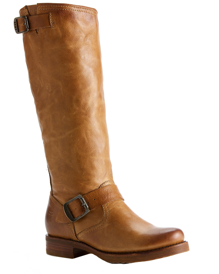 VERONICA SLOUCH LEATHER BOOT