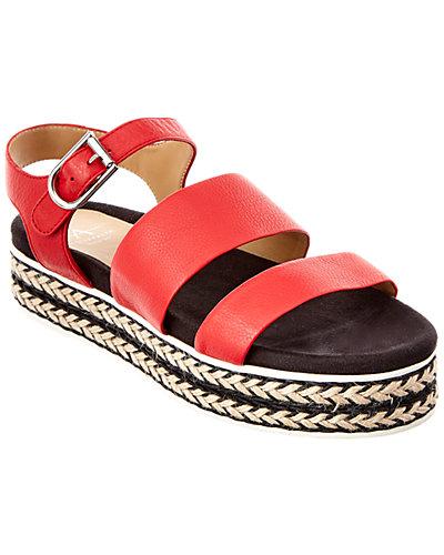 Aquatalia Celina Leather Waterproof Sandal