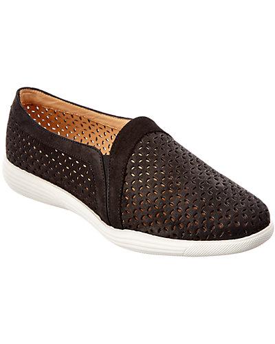 Aquatalia Gabi Nubuck Leather Waterproof Sneaker