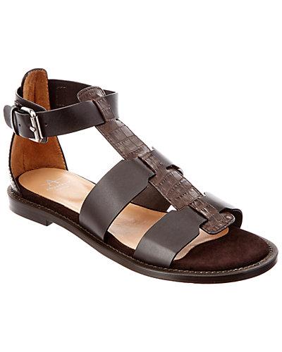 Aquatalia Idina Leather Waterproof Sandal