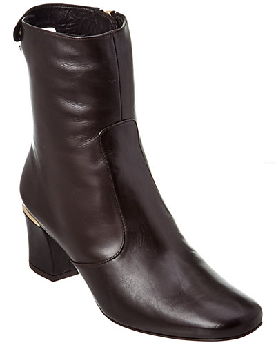 Delman Cryss Leather Bootie