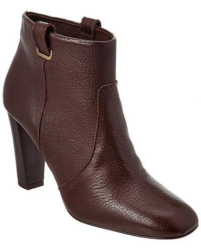 Delman Lydia Leather Bootie
