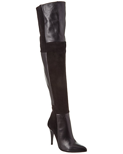 Charles David Kris Suede Over-The-Knee Boot