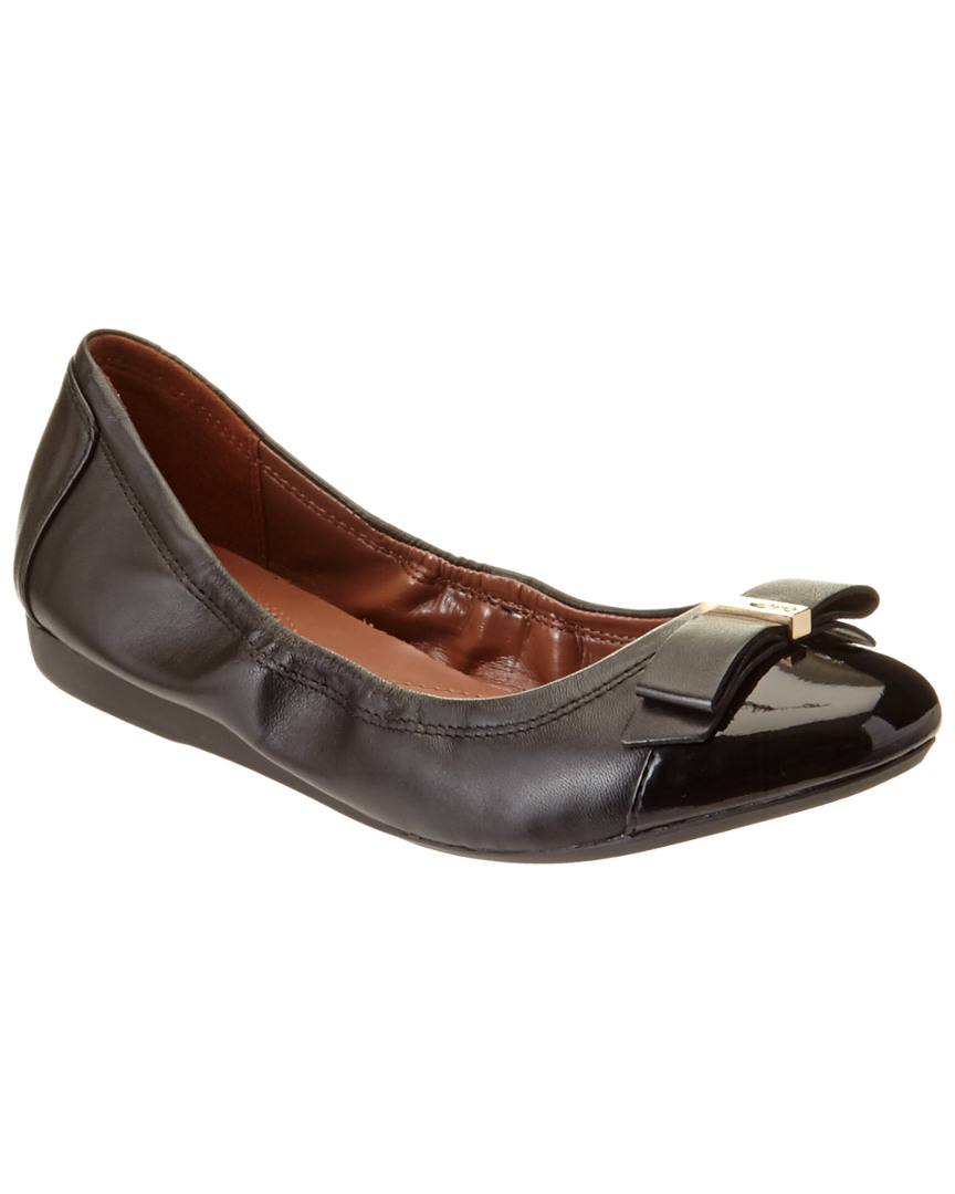 ELSIE LEATHER BALLET FLAT