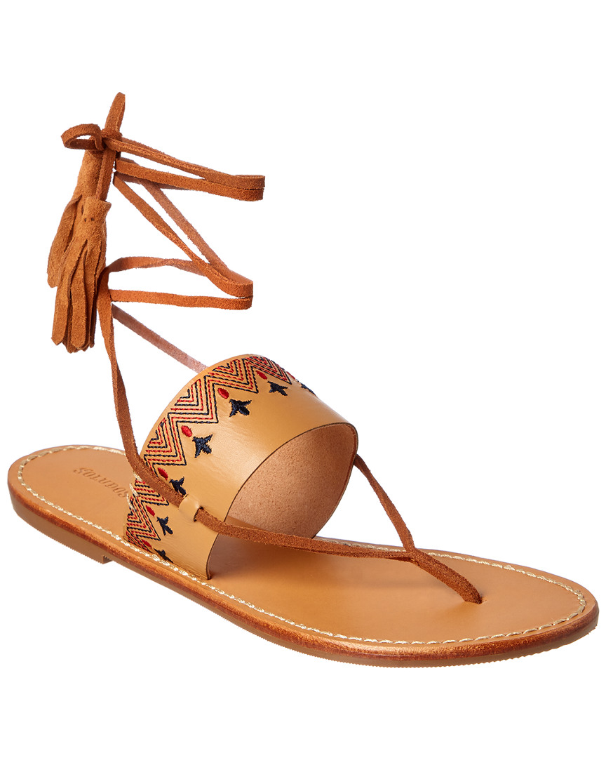 Soludos LEATHER SANDAL
