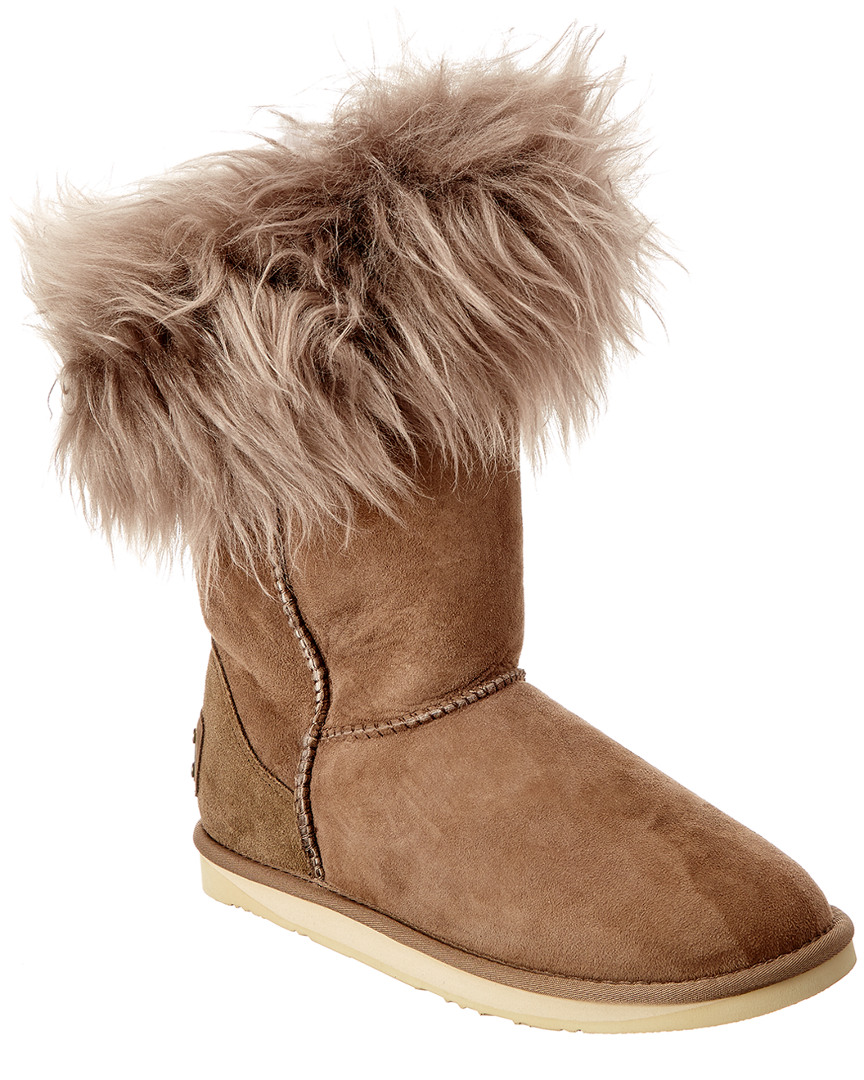 Australia Luxe Collective FOXY SUEDE SHORT BOOT