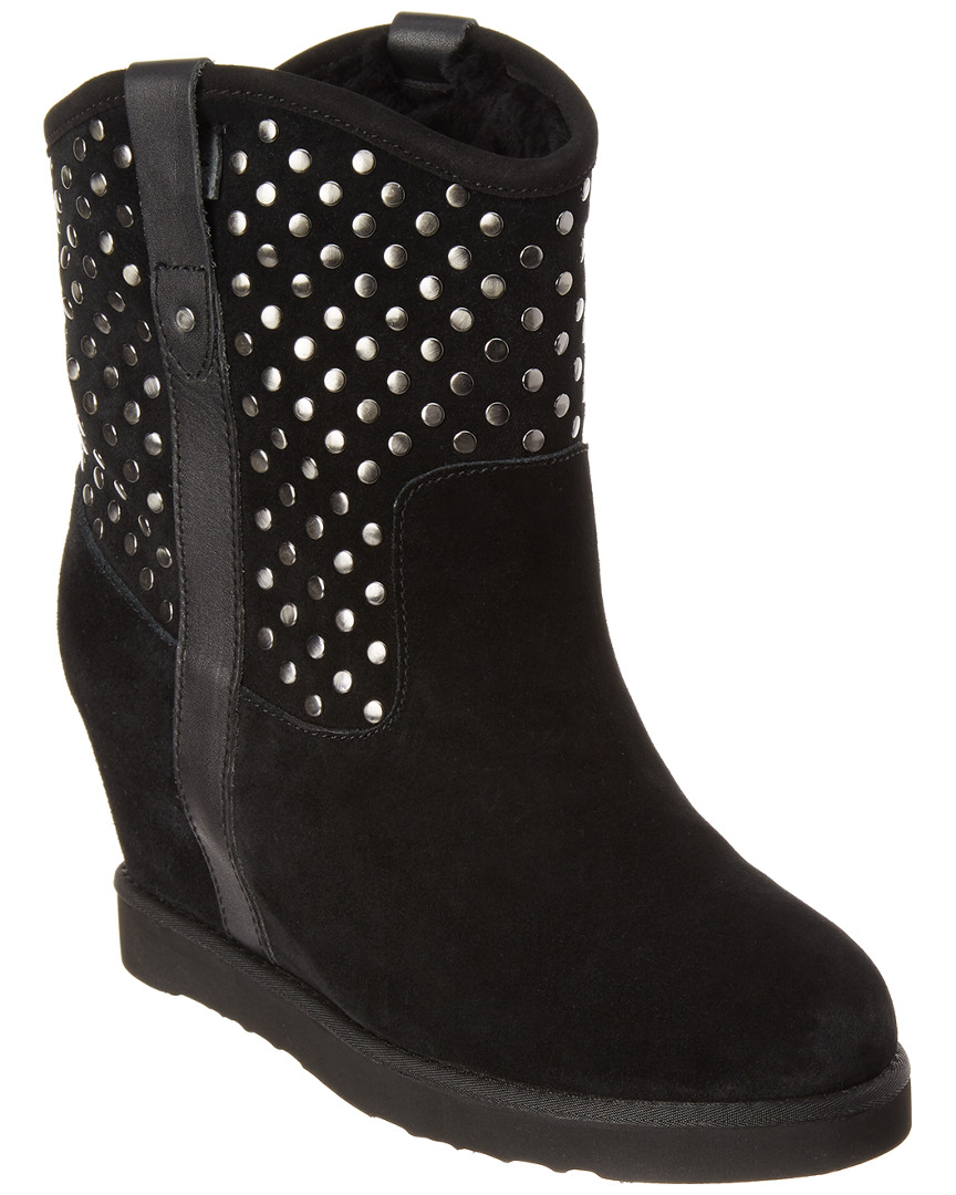 Australia Luxe Collective STUDLEY SUEDE WEDGE BOOT