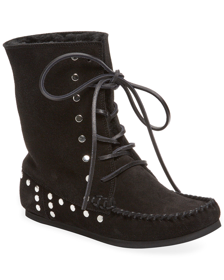 NIFTY SHEARLING LINED BOOTIE