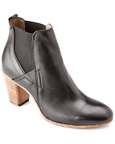 """Alberto Fermani """"Cascia"""" Leather Ankle Boot"""