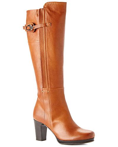 Alberto Fermani Leather Tall Boot
