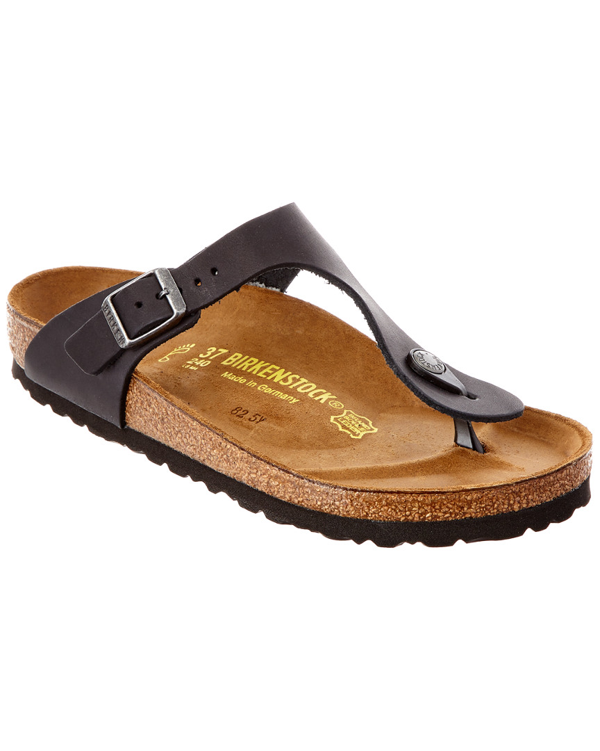 Birkenstock GIZEH OILED LEATHER SANDAL