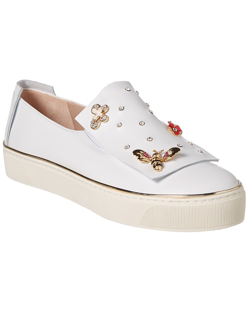 QUEENBEE LEATHER SNEAKER