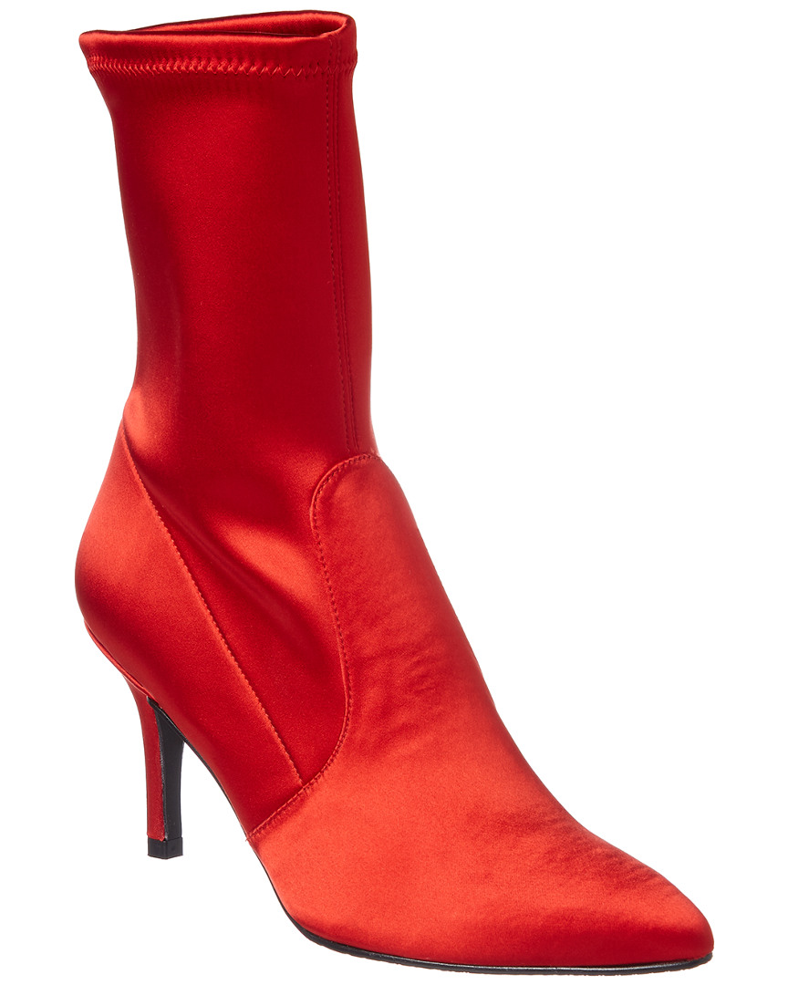 CLING SATIN BOOTIE