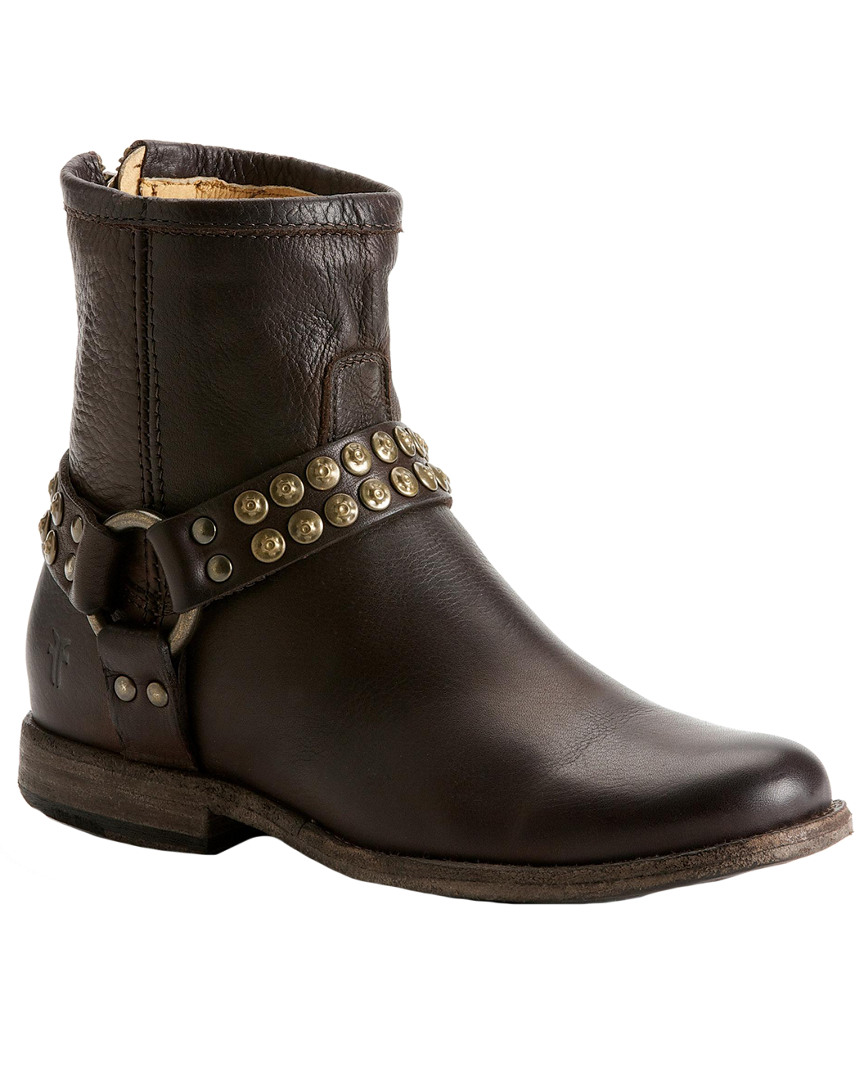 PHILLIP STUDDED LEATHER BOOTIE