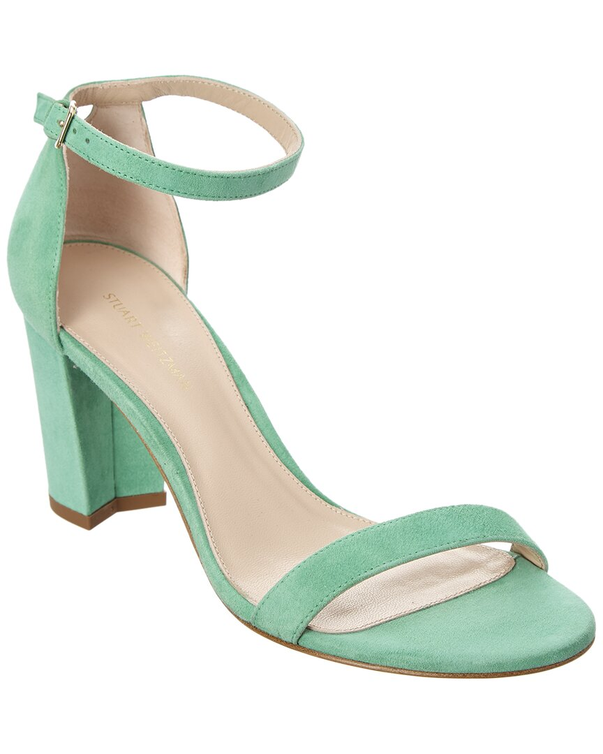 NEARLY NUDE SUEDE SANDAL
