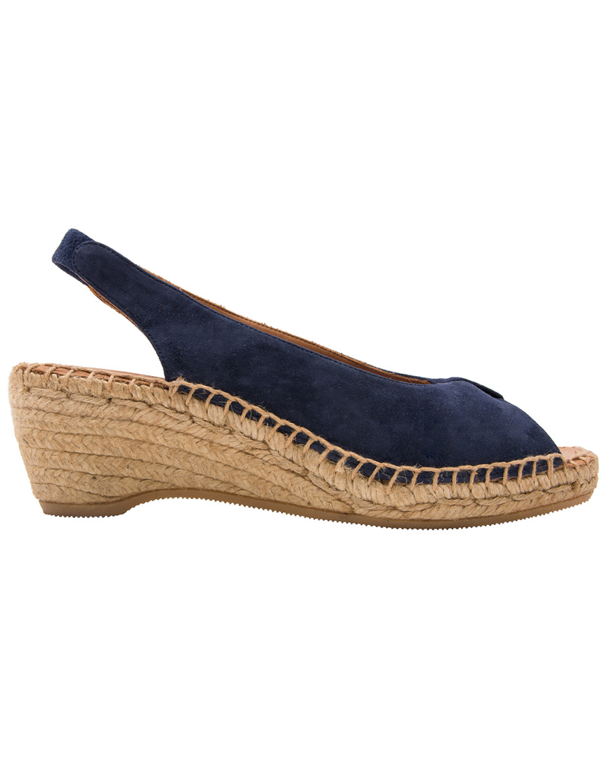Andre Assous LACE WEDGE SANDAL
