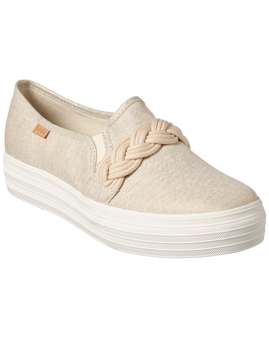 0a57c782724 Keds Triple Decker Rope Sneaker In White