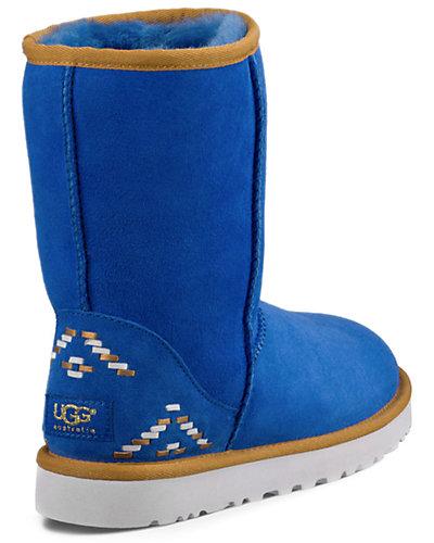 UGG Classic Short Rustic Weave Twinface Sheepskin Boot