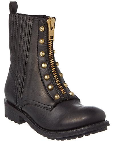 Ash Rachel Leather Moto Boot