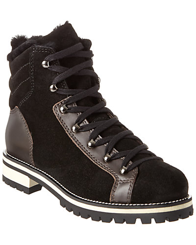 Aquatalia Edwina Waterproof Leather & Suede Sneaker