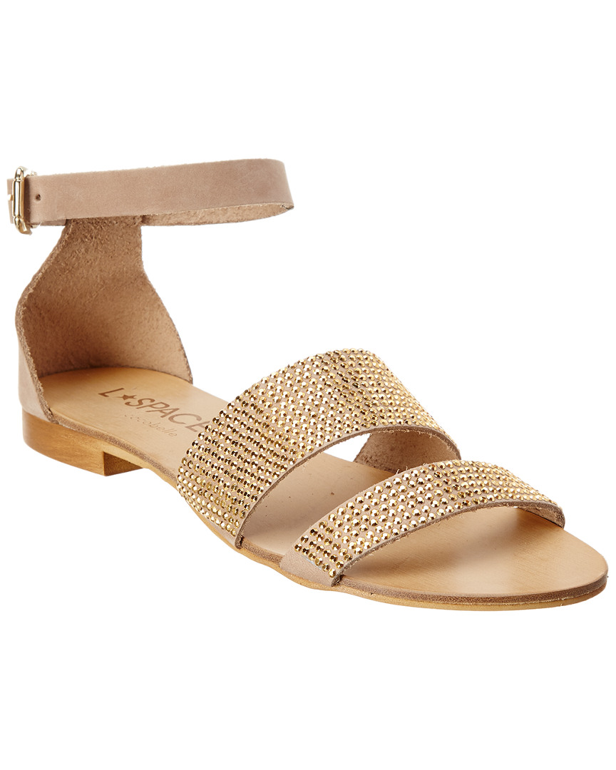 Cocobelle L*SPACE BY  SOLEIL BEADED SANDAL