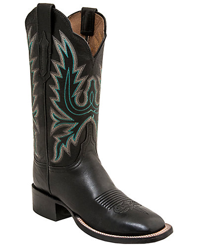 Lucchese Women's Ranch Leather Western Boot