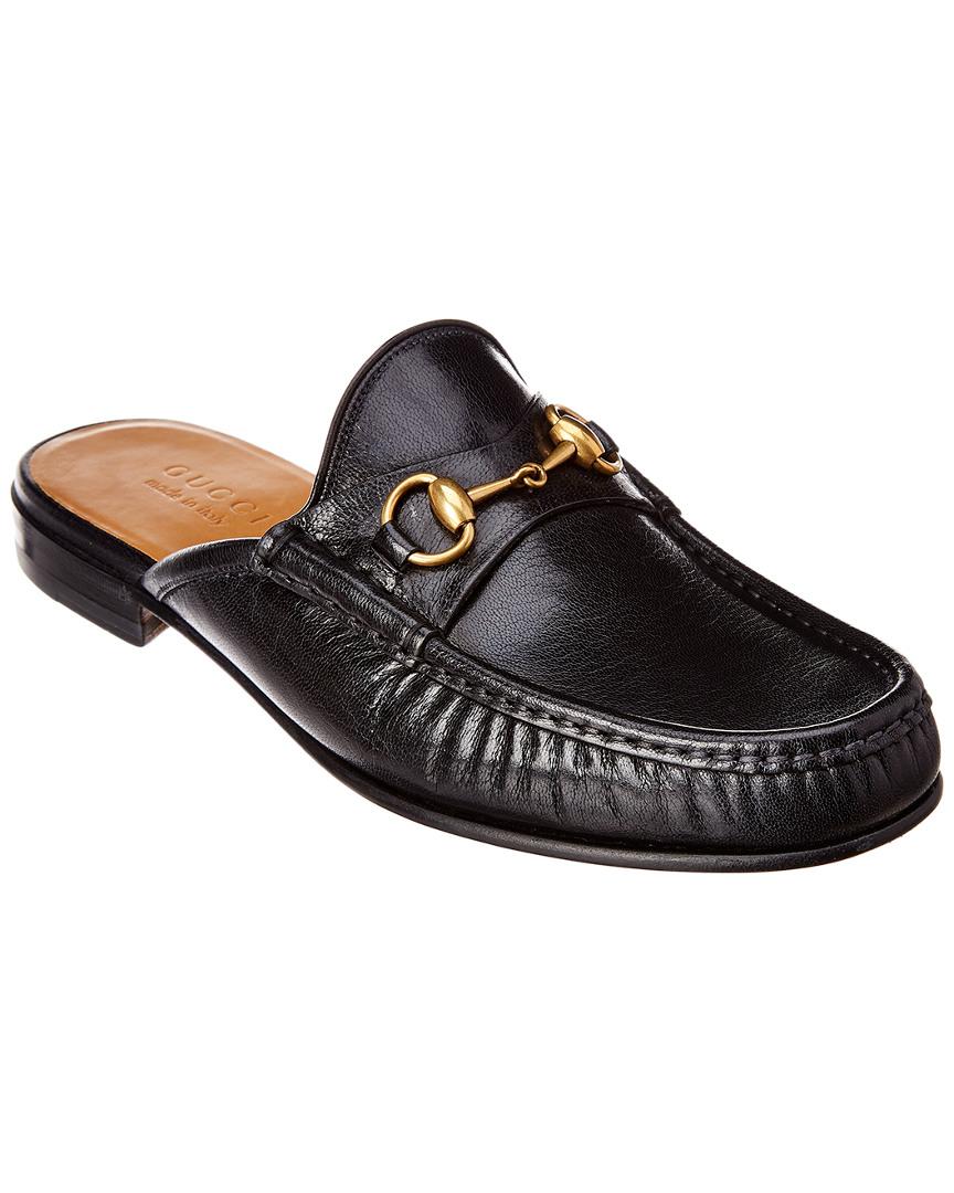 860eac878 Gucci Horsebit Leather Slipper | eBay