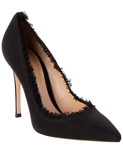 Gianvito Rossi Denim Pump