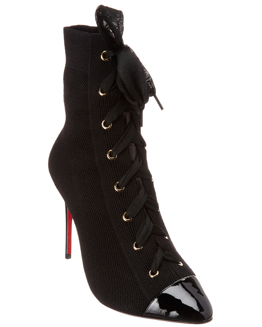 ed09627a6ca9 Christian Louboutin Frenchie 100 Stretch Bootie