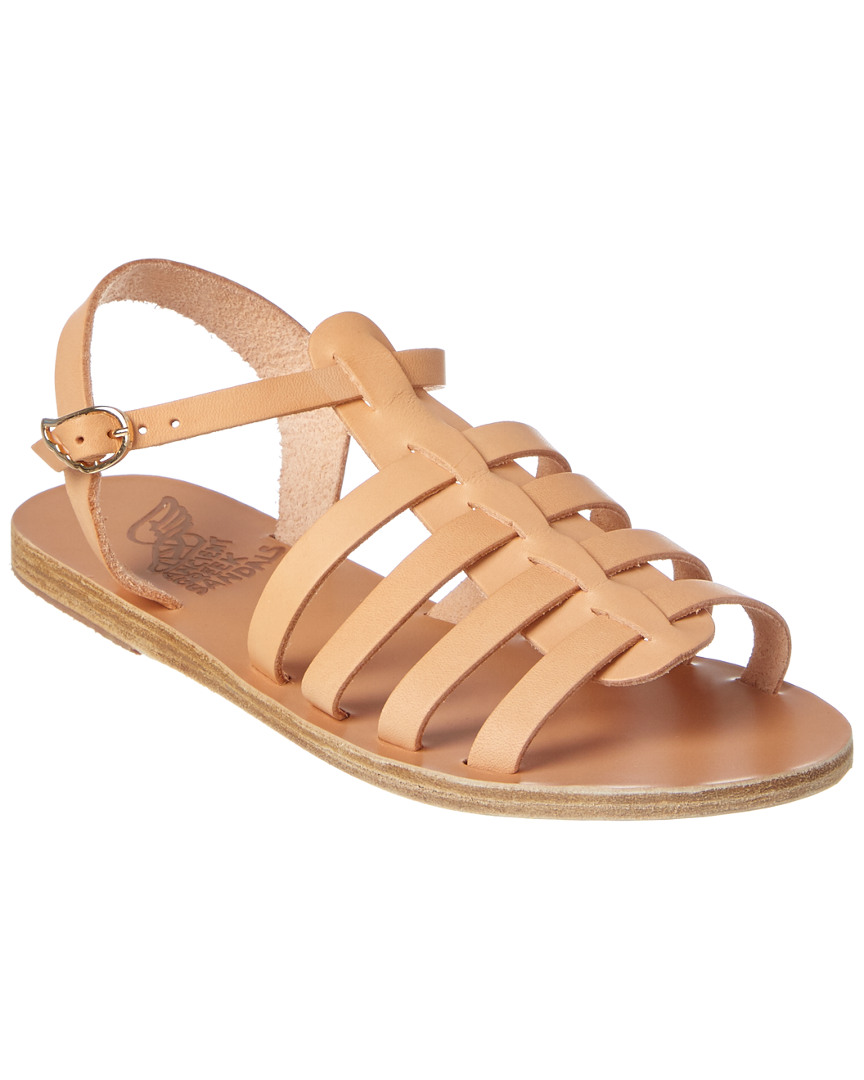 Ancient Greek Sandals Korinna Leather Sandal Women's  35