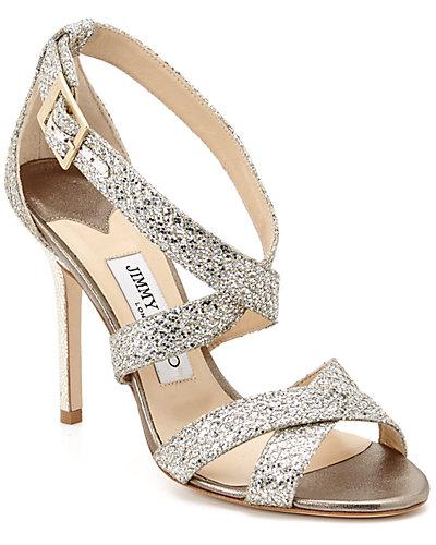 Jimmy Choo Lottie Glitter Sandal